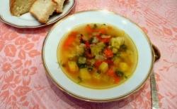 Крестьянский суп с капустой