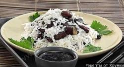 Кулинарный рецепт Рис с красными бобами с фото
