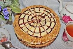 Кулинарный рецепт Торт Паутинка с фото