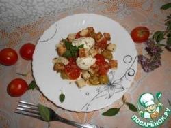 Быстрый пикантный салат