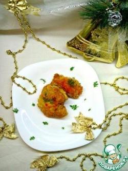 "Куриные ""кармашки"" с сыром и помидором"