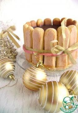 Торт желейный «Полосатая нежность»