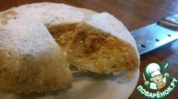 Яблочный пирог с корицей в СВЧ