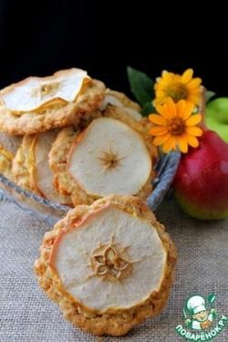 Овсяное печенье с яблоком и грушей