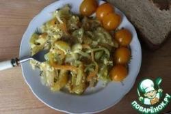 Картошка, жаренная с яйцами