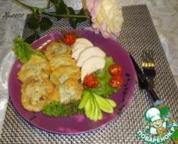 Жареная кольраби с сыром Дорблю