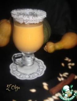 Тыквенно-молочный коктейль