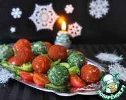 Овощной салат с сюрпризом