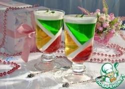 """Десерт """"Фруктовый калейдоскоп"""""""