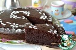 Шоколадный пирог на рикотте