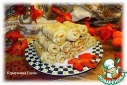 Кабачковые блины с сыром и имбирем