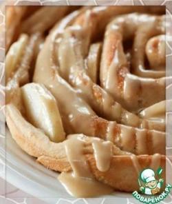 """Яблочный пирог """"Роза"""""""