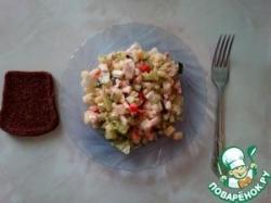 Несложный салат от Влад Владыча
