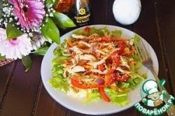 Теплый салат по-тайски с овощами