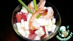Быстрый салат на завтрак