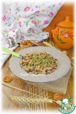 Ароматный рис с грецкими орехами