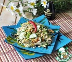 Вьетнамский овощной салат со свининой
