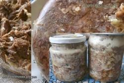 Кулинарный рецепт Тушенка говяжья с фото