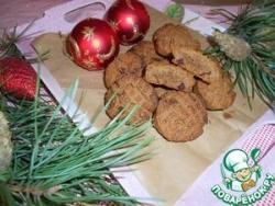 Имбирно-гречневое печенье