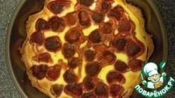 Сметанно-ягодный пирог