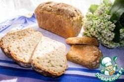 Хлеб с квашеной капустой