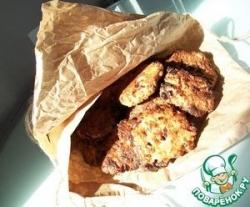 Творожное печенье со сливами