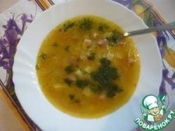 Суп с рисом и маком