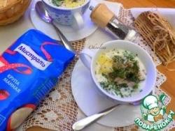 Сливочный суп из карпа