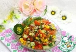Фасолевый салат по-мексикански