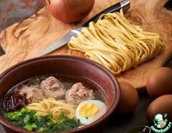 """Сингапурский суп """"Баксо"""""""