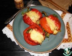 Перец, запеченный с фетой