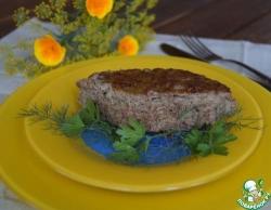 Суфле из печени с кабачком
