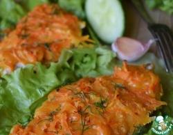 Куриное филе с морковью и сыром