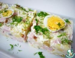Картофельный салат нарезной