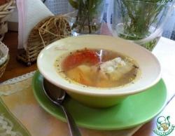 Лёгкий рыбный суп из трески
