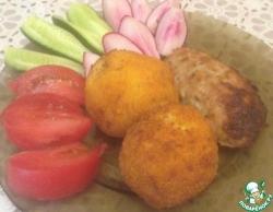 Хрустящие картофельные шарики, на гарнир