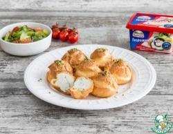 Закусочные профитроли с сырной начинкой