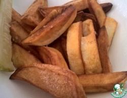 Просто жареная картошка-быстро