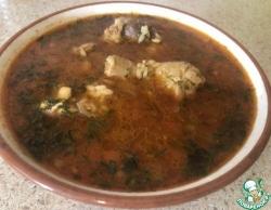 Суп «Харчо» из курицы