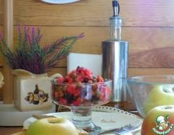 Винегрет со свежим огурцом и яблоком
