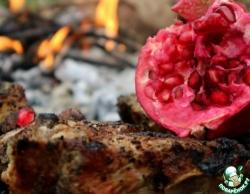 Мясо жареное на углях