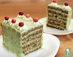 """Закусочный торт """"Лесная мавка"""""""