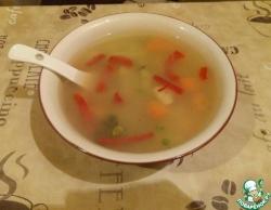Быстрый суп без зажарки