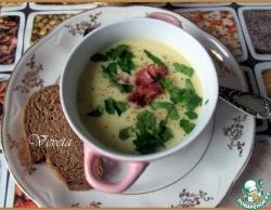 Картофельный крем-суп с хреном