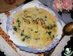 """Суп с мидиями """"Бархатный"""""""