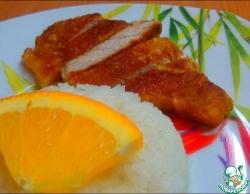Корейка в апельсиновом маринаде