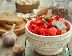 Зимнее овощное рагу со свеклой
