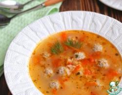 Суп с фрикадельками и овсяными хлопьями