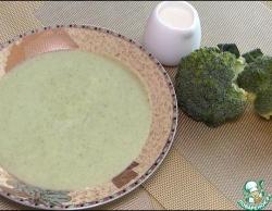Крем-суп из капусты брокколи