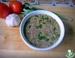 Постный ореховый суп
